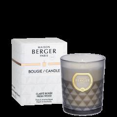 Bougie parfumée Clarity Clarté Boisée
