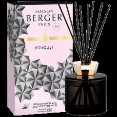 Bouquet parfumé Black Crystal Délicat Musc Blanc