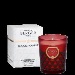 Bougie parfumée Clarity Poussière d'Ambre