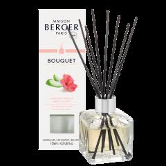 Bouquet parfumé Cube Amour d'Hibiscus
